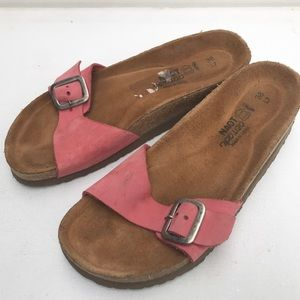 NAOT slip on Sandals 38 7 pink slide casual